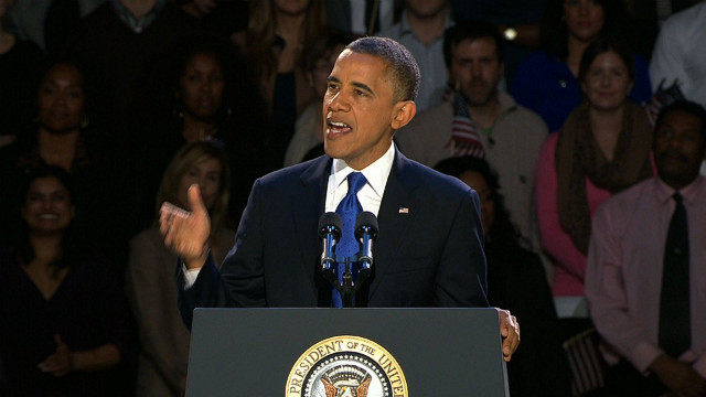why to re elect president obama President barack obama has been re-elected to a second term, defeating republican challenger mitt romney america's first black president secured more than the 270 votes in the electoral college needed to win in his victory speech before supporters in chicago, mr obama said he would talk to mr.